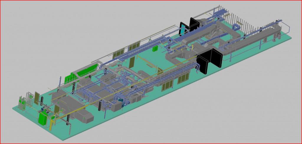 Laserscan technische ruimte